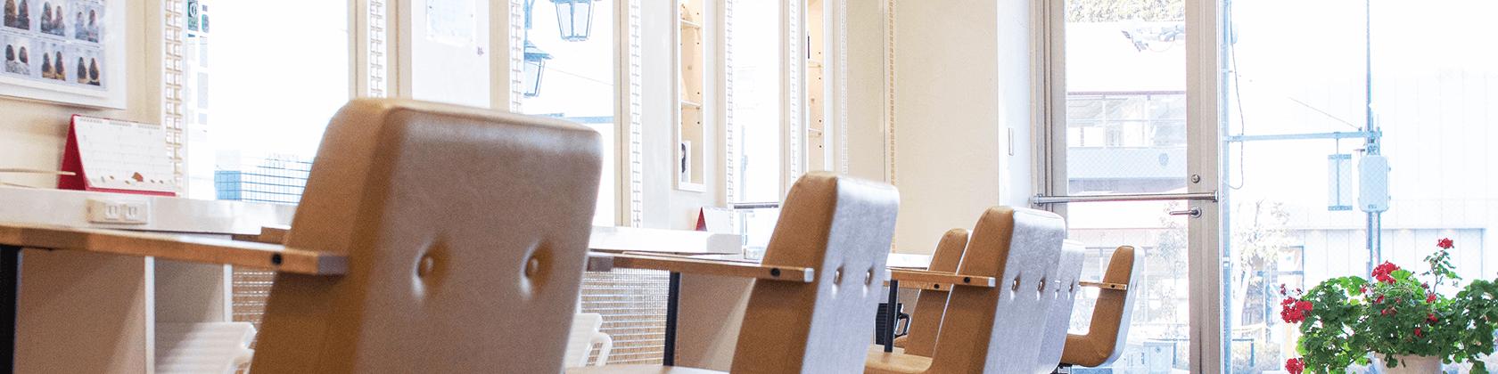 千川の美容室カミユウの内観